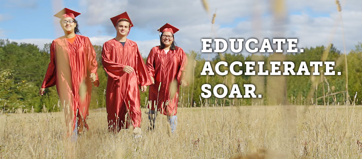 Educate. Accelerate. Soar.